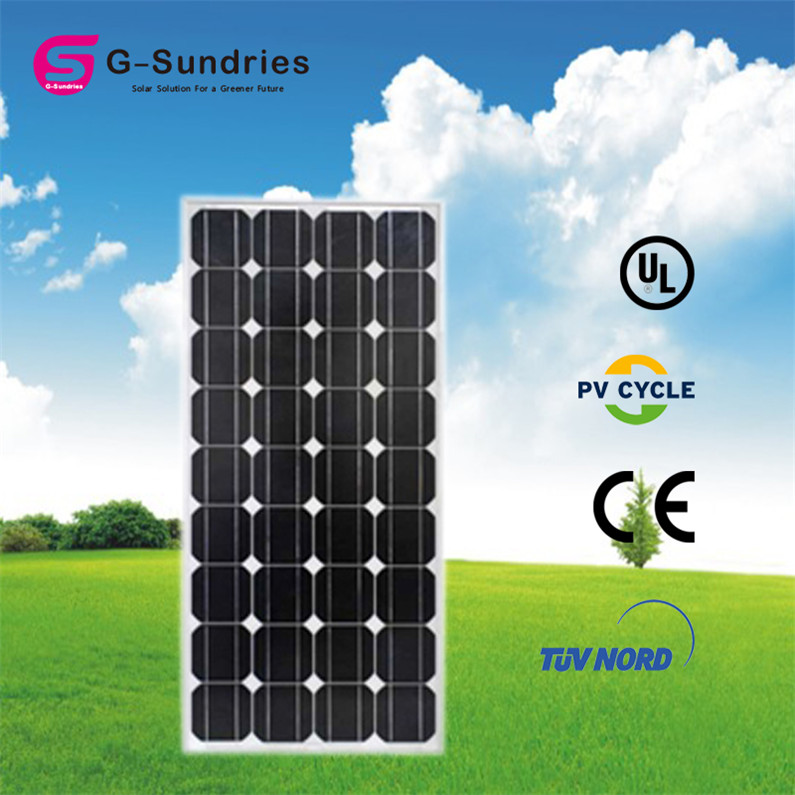 Easy to use photovoltaic solar panels 100w of best price