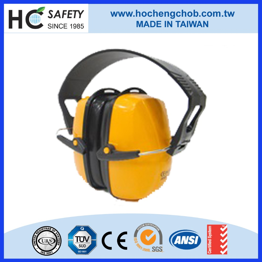 HC709 safety ppe personal protective equipment ce en 352-1 ansi s 3.19 cheap aviation ear muff manufacturer