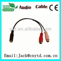Hot Saling vga svga to s-video 3 rca tv av converter cable a Super speed