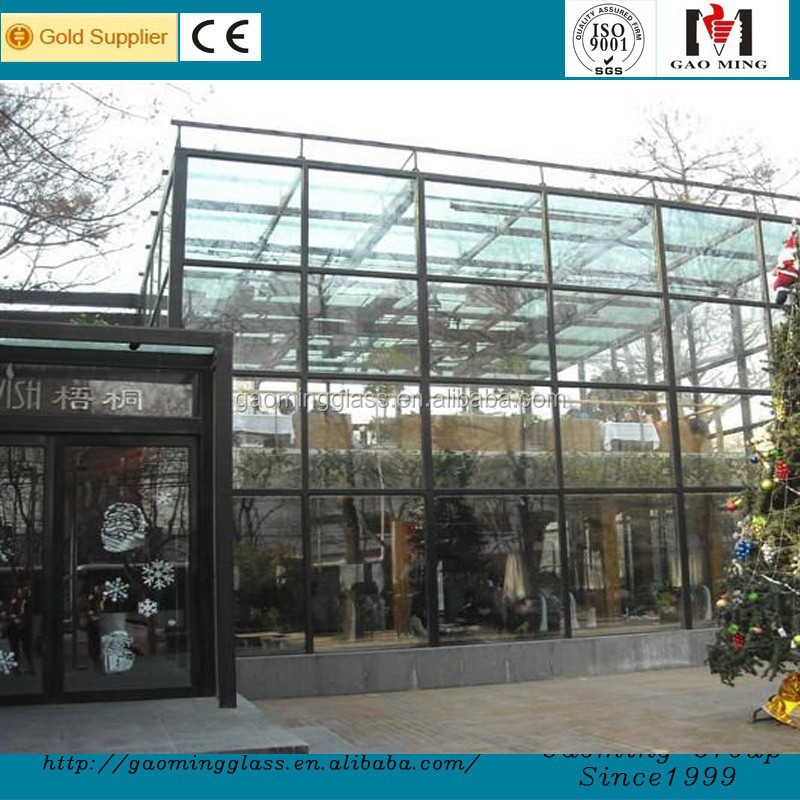 Decorative Glass Sunrooms Glass Houses /Winter Garden from China GM-ZS010