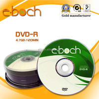 Factory Price Wholesale Single Layer 4.7gb blank dvd 16x, A Grade Blank DVD-R