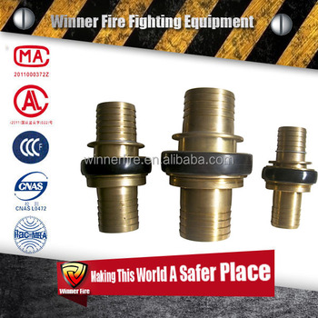 Brass material Machino Fire Hose Couplings
