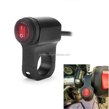 high quality aluminum Universal CNC motorcycle switch 22mm 25mm handlebar Low High Beam light switch ON/OFF