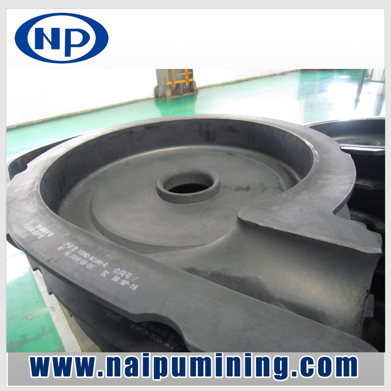 High efficiency centrifugal slurry pump for mineral separation in non-ferrous and ferrous metal mines