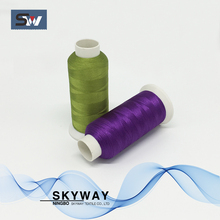 4000m 5000m 108d 120d polyester embroidery thread embroidery machine