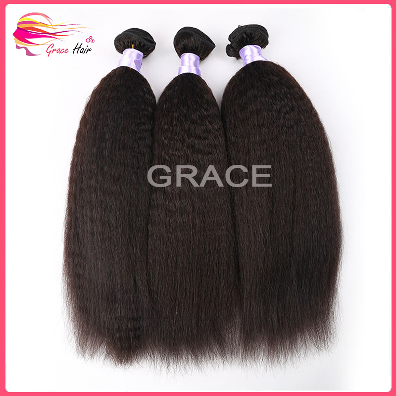 Factory Price Tangle Free 8A Grade Virgin Mongolian Kinky Straight Hair