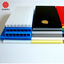 Plastic pc hollow sheet garden shed/ plastic polycarbonate mulitwall sheet for roofing covering