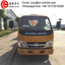 99 horse power 5 cubic meters vacuum sewage suction truck 5000 liters sewage tanker truck for sale