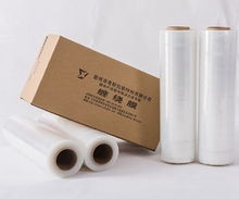 pallet wrapped LDPE polyester stretch film