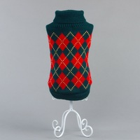 Knitting pattern for dog sweater Pet clothes for small dog