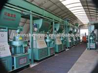 CE approved automatic briquetted machine biomass briquette machine