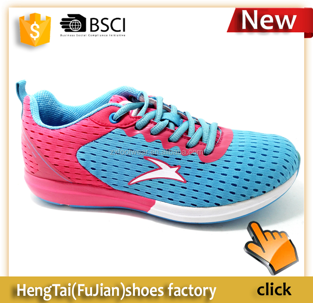 2016 Summer breathable mesh sports mens running shoes