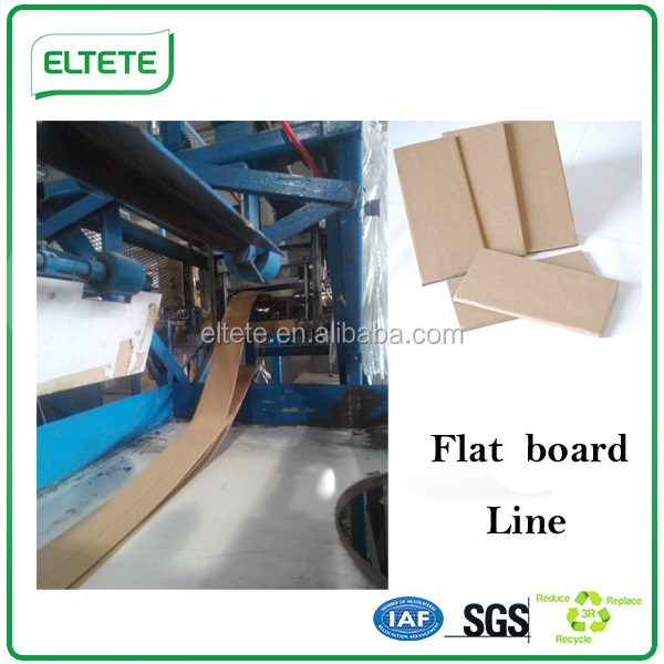 Double or single side gluing edge board machine
