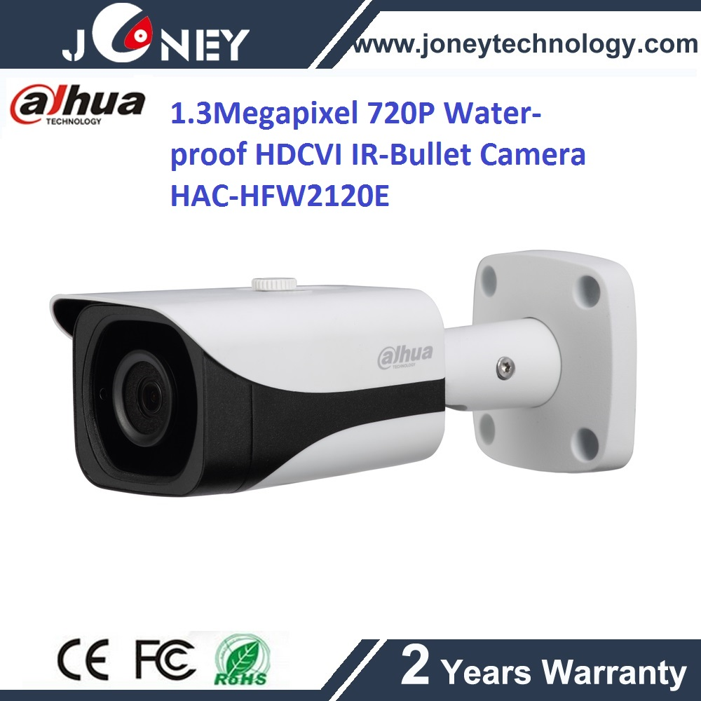 1.3Megapixel 720P Water-proof IR-Bullet Camera HAC-HFW2120E hdcvi camera dahua