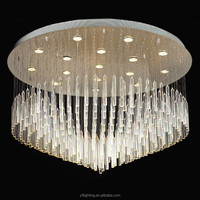 Indoor Home Decorative Led Chandelier Crystal Ceiling Lights Made in Zhongshan