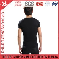 Compression control Men's V-Neck T-Shirt Y60