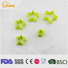Funny star cake chocolate mold Silicone DIY cookies cutter cake tools