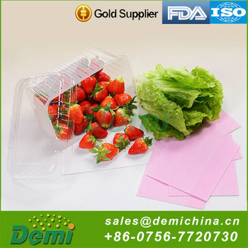 China Wholesale Disposable Food Container For Seafoodl Absorbent Pad