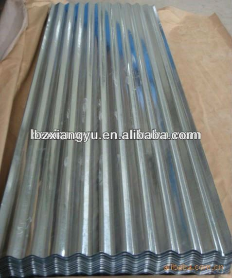 China gi/zinc/aluzinc corrugated galvanized steel roofing sheet prime price