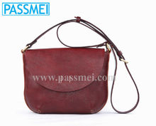 Vintage Cow Hide Women Custo-made Mini Handbags, Cute Ladies Real Leather Mini Shoulder bag