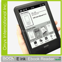 fashional e-book reader C65ML 6 inch android 2.3 Front Light Wifi