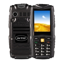 In Stock Rugged Cell Phone Unlocked GSM Waterproof Shockproof Powerful Battery M18 Phone, Dual SIM mobile phone