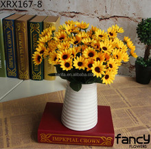 cheap wholesale artificial mini sunflower arrangement