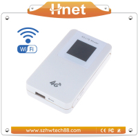 Hnet Brand Unlock 4G LTE Modem GPRS Wifi Wireless Router With Sim Card Slot