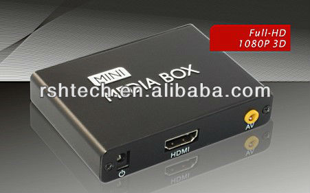 Mini size, 1080p high definition, Car media player