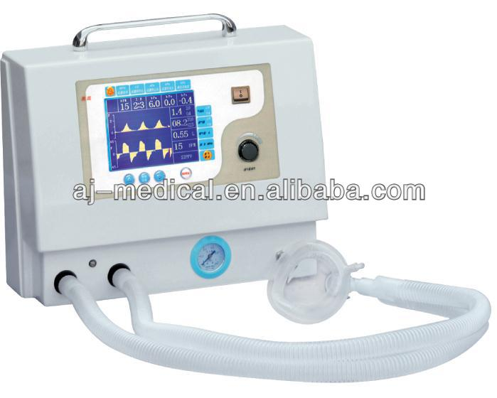 ICU /Ambulance/Portable Ventilator AJ-2202 with CE Approved