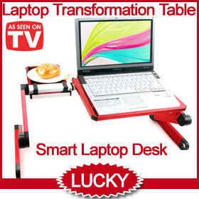 Smart Laptop PC Netbook Ebook Notebook Transformable Desk Table
