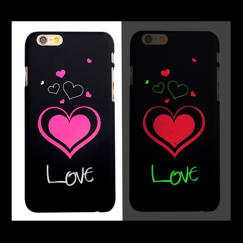 100% High Quality PC/TPU Back Cover for LG G3 mini G4, Light Glow in Dark For LG Mobile Phone Case