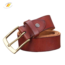 High Quality Cowhide Real Leather Belt For Men