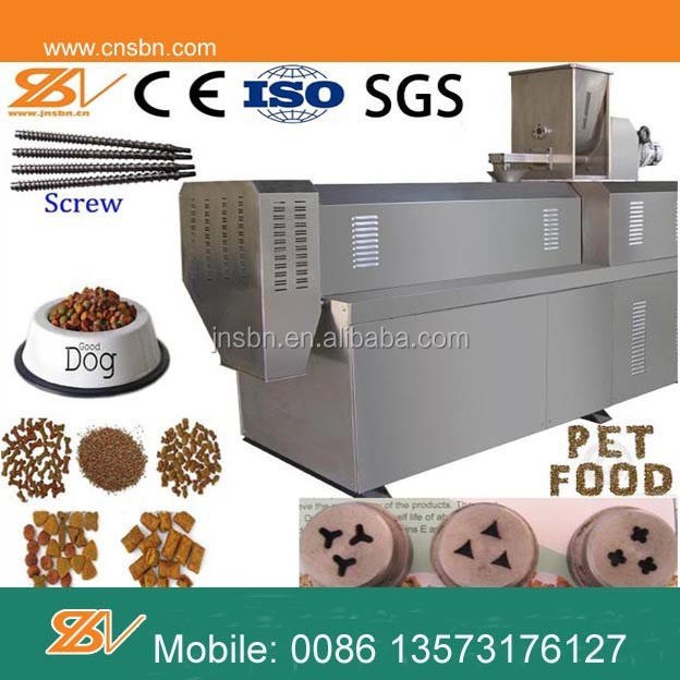 Professional automatic Pet food pellet machine