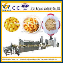 Multiple capacity automatic extrusion snack food industry