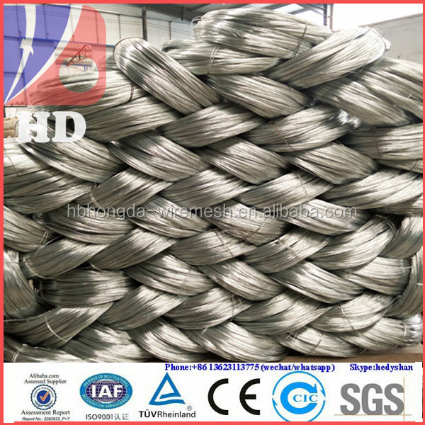 Reinforcement steel binding wire/soft galvanized tie wire/galvanized wire