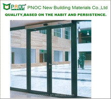 PNOC Factory Provide Main Gate Designs With Aluminum Casement Door With Large Glass