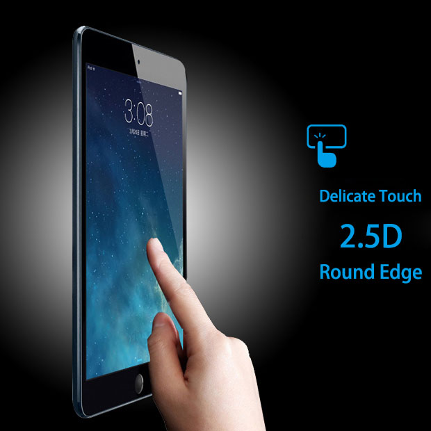 99% transparency anti scratch anti shatter 9H Tempered Glass for ipad mini4/ laptop tempered glass screen protector review