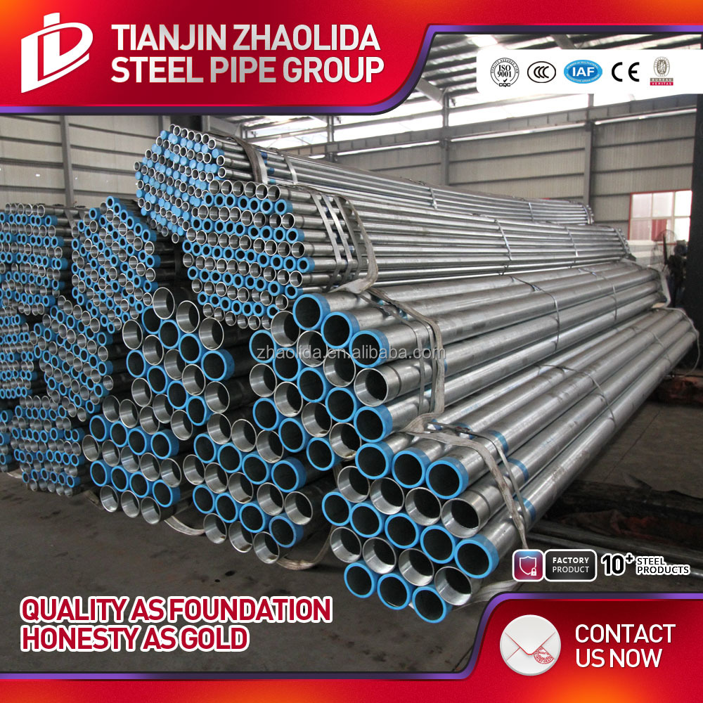 bs1387 gi pipe galvanized steel pipe gtc