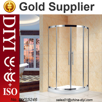 DYS5246 corner shower room glass shower door hinges pivot and outdoor shower room