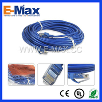 Multi core twisted 2 pair UTP cat5e amp cat7 network cable