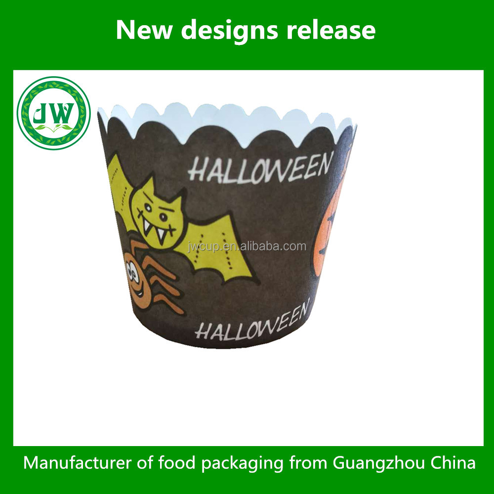 Halloween cake cups for muffin baking cake decorate
