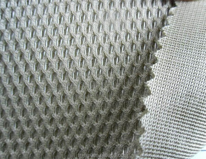 3d Air Spacer 100% Polyester Mesh Fabric For Mattress / Backpack Bag