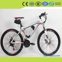 high performance comfortable electric mountain bike 2016 wholesales new design electric bicycle