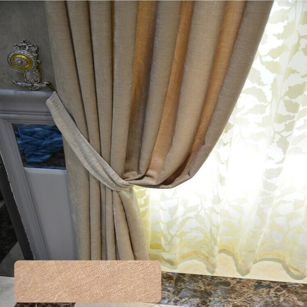window curtain plain blackout curtain ready made curtain sun out cortina