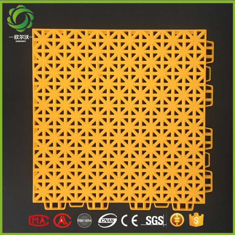 Xinerwo 100% new pp plastic outdoor interlocking garage floor tiles for sale