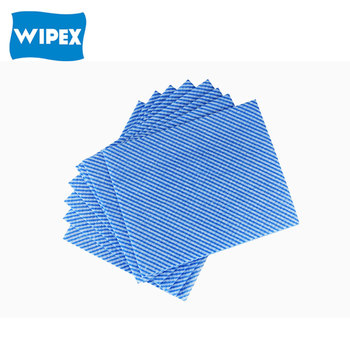 multi purpose Nonwoven wipes / colorful wavyline cleaning cloth/ dry wipes
