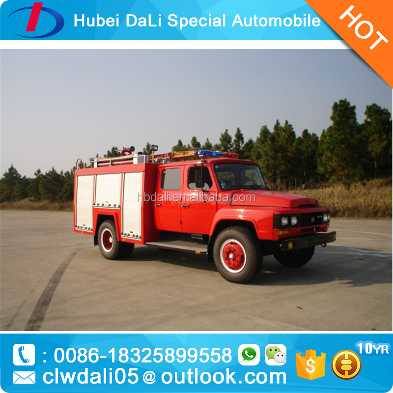 Dongfeng HOWO FAW FOTON 4*2 Water fire fighting truck antique fire trucks for sale