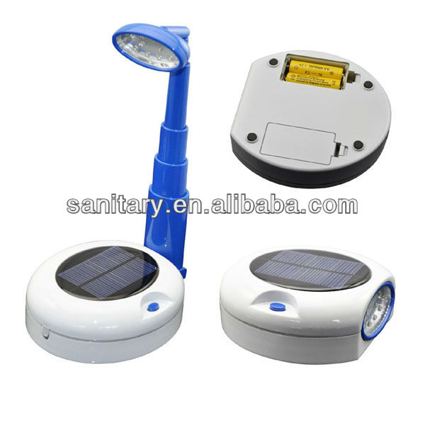 Multifunctional telescopic Solar Reading Lamp