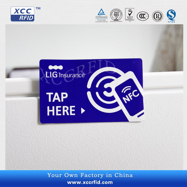 Passive rfid nfc sticker iso 14443a tag